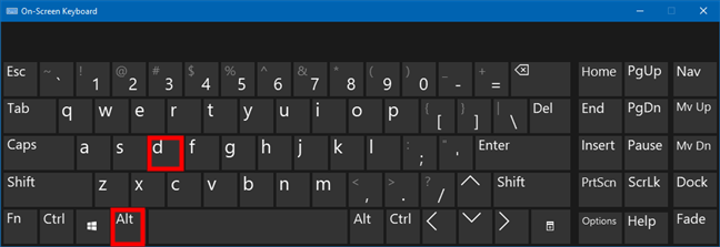 Access the address bar of File Explorer with the keyboard shortcut Alt + D