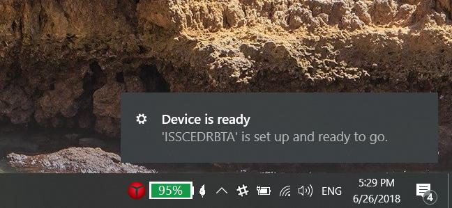Windows 10 installed a Bluetooth adapter