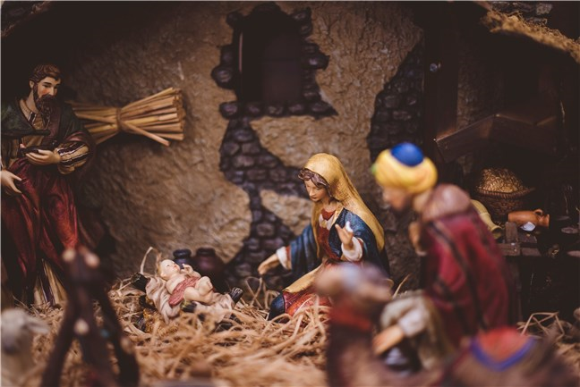 Nativity Figurine by Ben White
