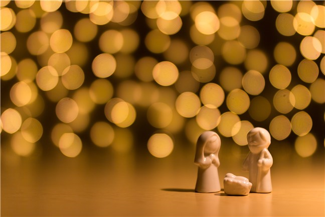 Nativity Figurine by Gareth Harper