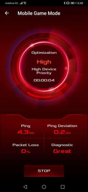 Enabling Mobile Game Mode