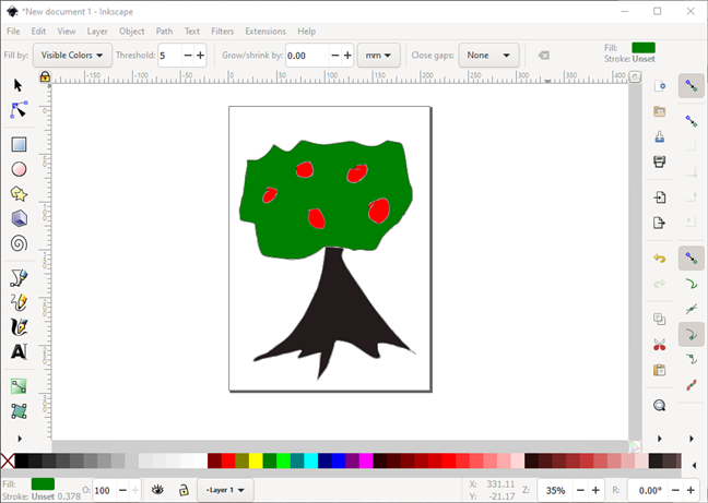 Paint-like program: Inkscape