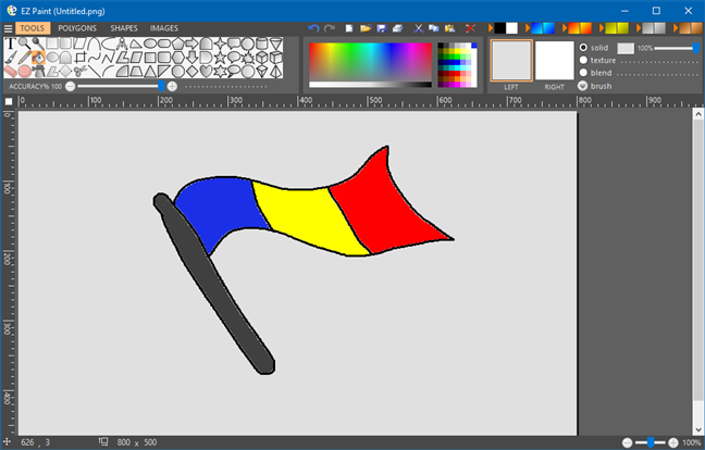 Microsoft Paint alternative: EZ Paint