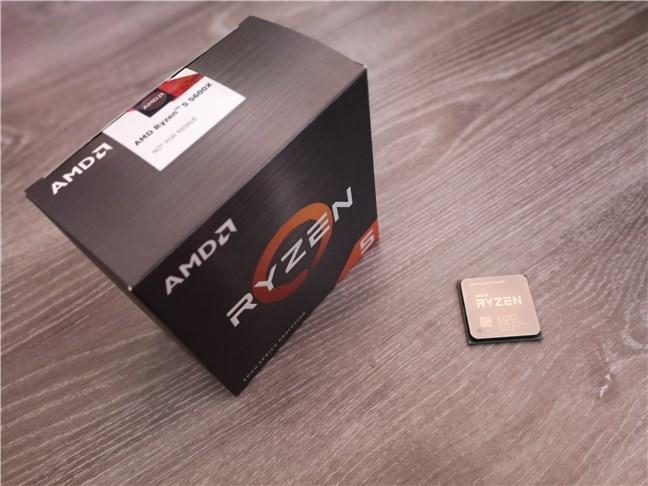 Unboxing the AMD Ryzen 5 5600X processor
