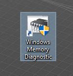 Windows Memory Diagnostic shortcut