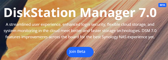Join the DiskStation Manager 7 Beta