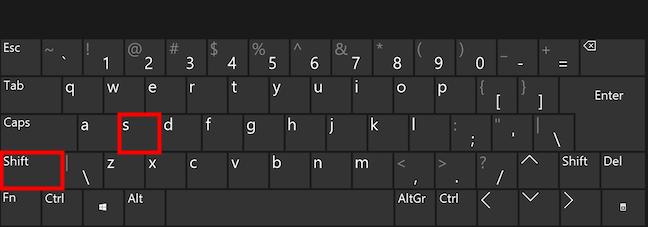 Take movie screenshots in Windows with a keyboard shortcut