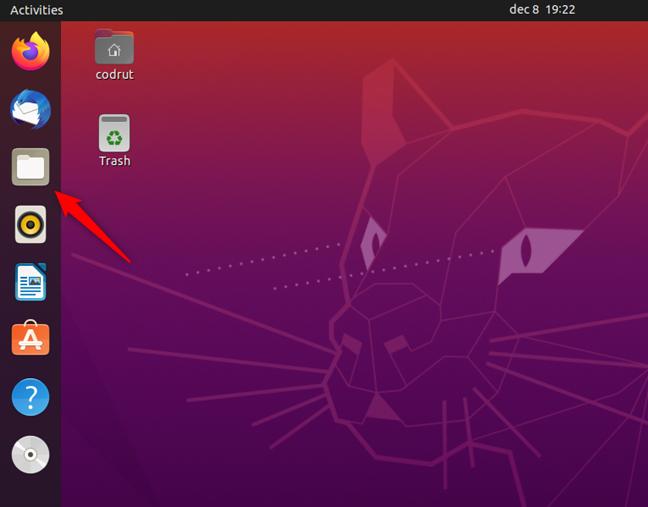 Opening Files in Ubuntu Linux