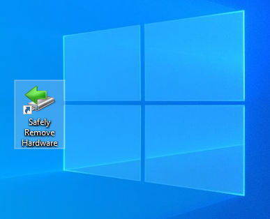 Download our Safely Remove Hardware shortcut