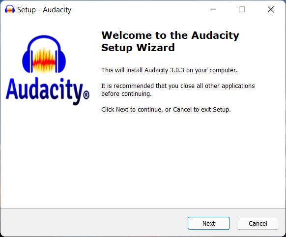 Install Audacity to reverse audio