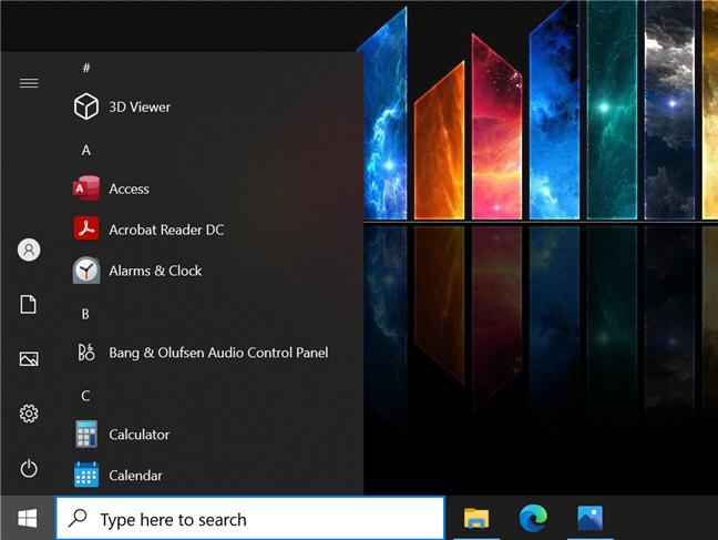Create a Windows 10 classic Start Menu