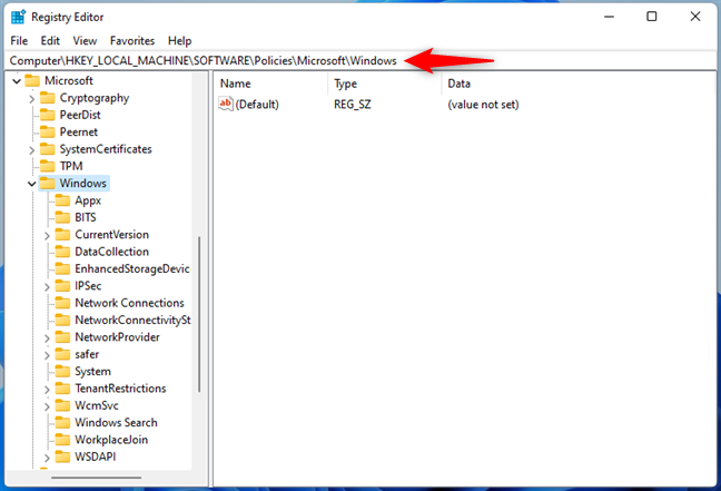 Navigating the Windows Registry