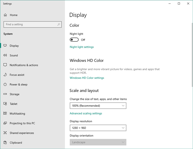 Control Panel items are moved to the Settings app in Windows 10