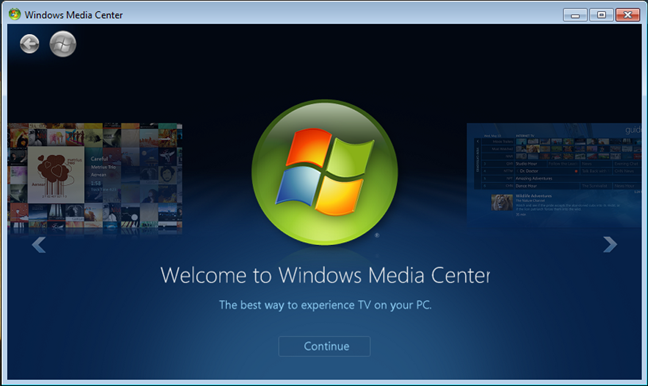 Windows Media Center is no longer available in Windows 10