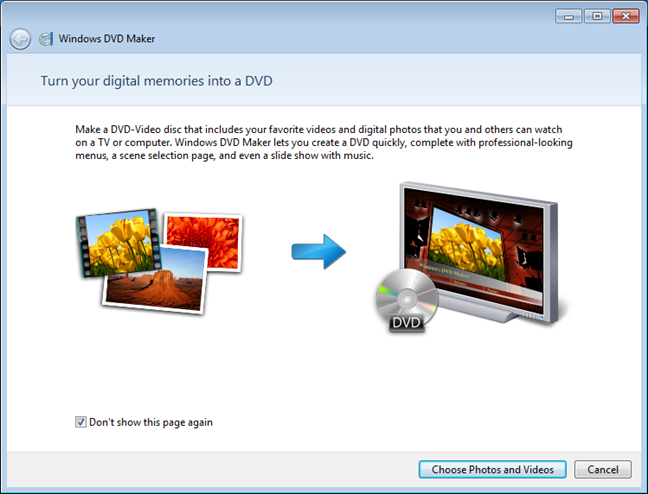 Windows DVD Maker was removed from Windows 10