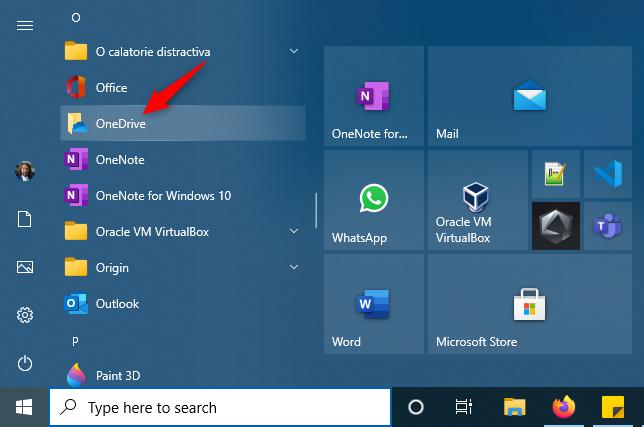 Force OneDrive to sync: Restart the OneDrive app