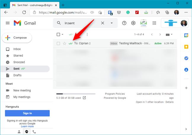 Mailtrack - Microsoft Edge Addons