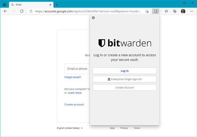 Bitwarden (Free Password Manager) - Microsoft Edge Addons