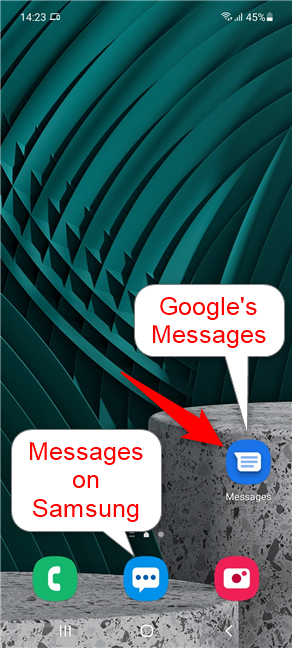 Make sure you're using Google's Messages app