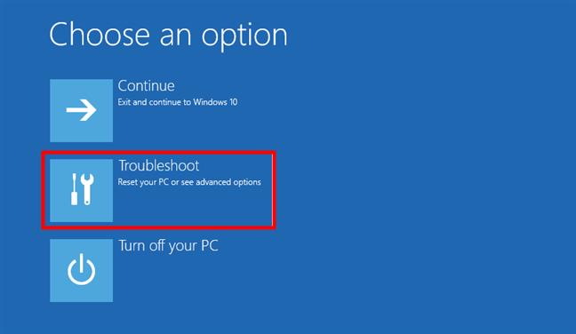 Troubleshooting Windows 10