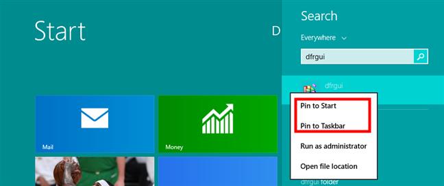 Pin Disk Defragmenter to Start in Windows 8.1