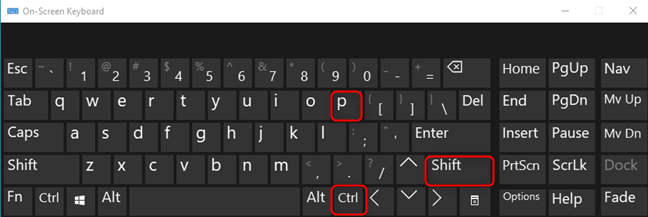Press CTRL+SHIFT+P in Firefox for Windows, Linux, and ChromeOS