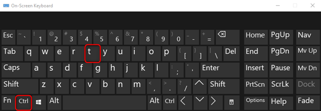 Press CTRL+T on Windows, Linux, or ChromeOS to open a new tab