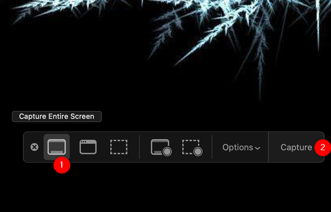 Get the whole screen shot on Mac with Capture Entire Screen