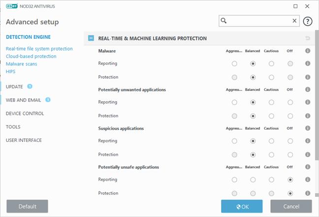 ESET NOD32 Antivirus: Real-Time & Machine Learning Protection