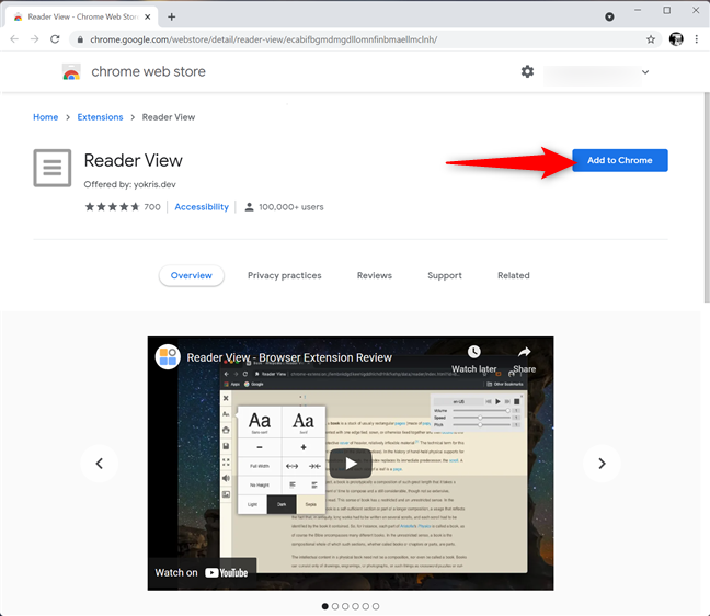 Get a Chrome extension to print without ads