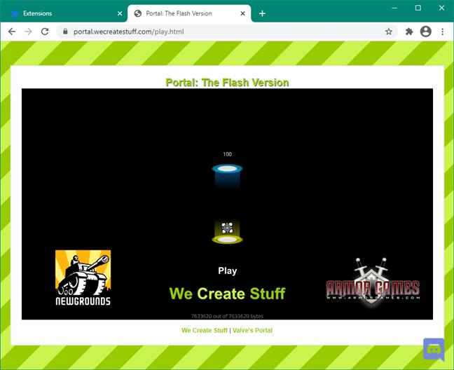 Adobe Flash Player: plugin unblocked