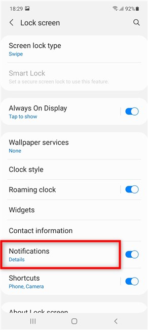 Access Notifications