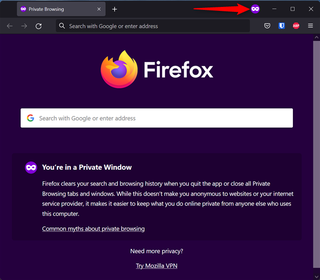 The Firefox Incognito mode is called Private Browsing
