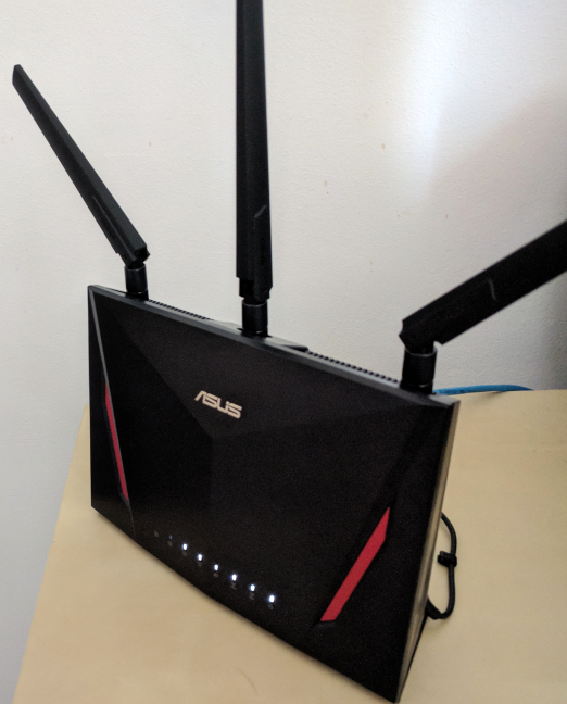 The ASUS RT-AC86U AC2900 wireless router