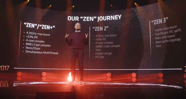 """AMD's CTO, Mark Papermaster, talking about the """"Zen"""" journey"""