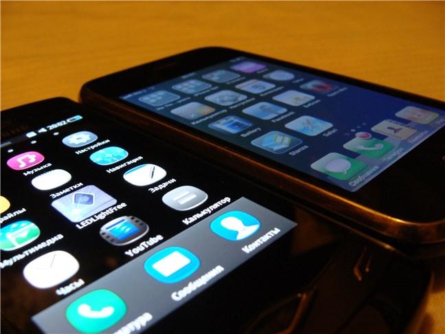 AMOLED versus LCD screen