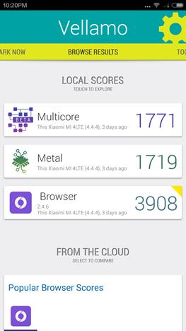 Android, Benchmark, apps, Vellamo