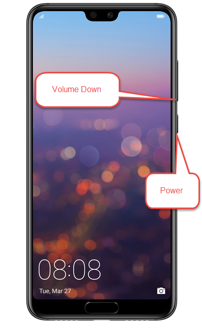 Volume Down and Power are commonly placed on the right edge