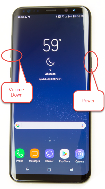 The two buttons can also be found on different edges of the smartphone