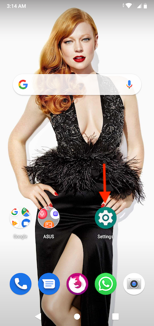 The shortcut is placed on your Home screen