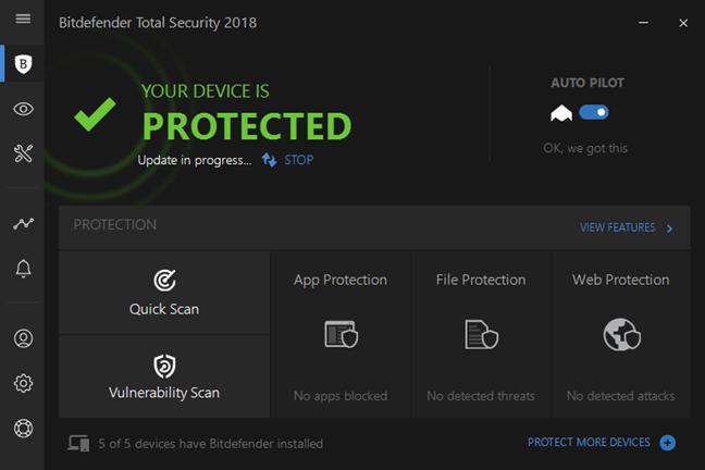 antivirus, internet, total, security