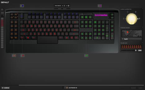 SteelSeries, Apex, keyboard, review, gaming