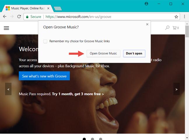Windows 10, associate apps, websites
