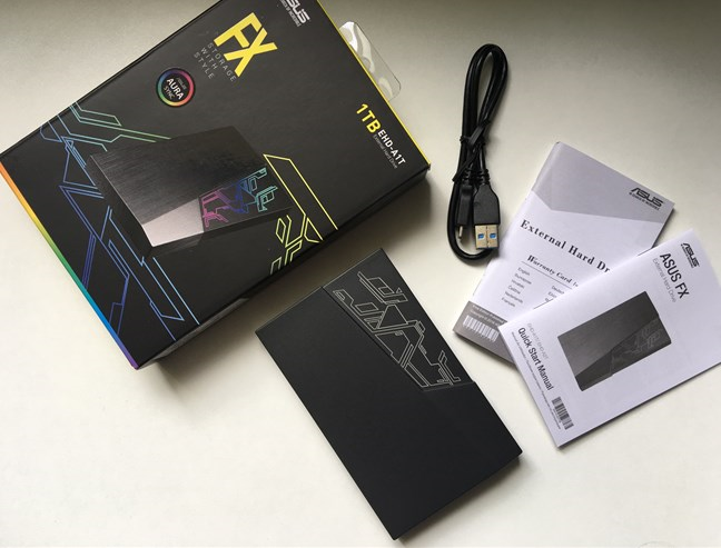 ASUS FX HDD - what is inside the box