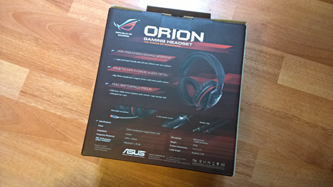 ASUS, ROG, Orion, headset, headphones, audio, review, gaming