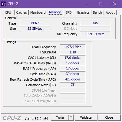 The RAM inside the ASUS Mini PC PB60G