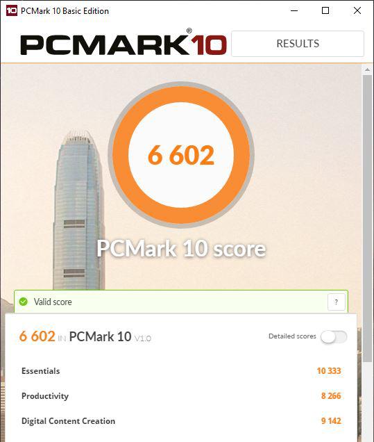 ASUS Mini PC ProArt PA90 - PCMark 10 score