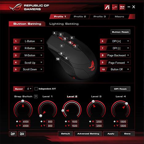 ASUS, ROG, Buzzard, GX860, mouse, review, gaming, gm50, mousepad