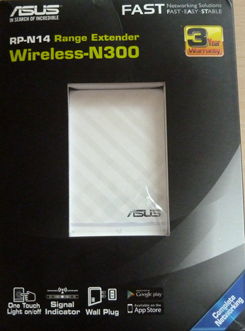 ASUS RP-N14, WPS, range, extender, wireless,network, 2.4GHz