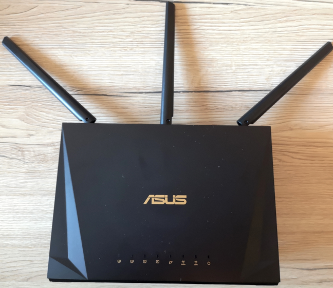 The ASUS RT-AC85P AC2400 wireless router
